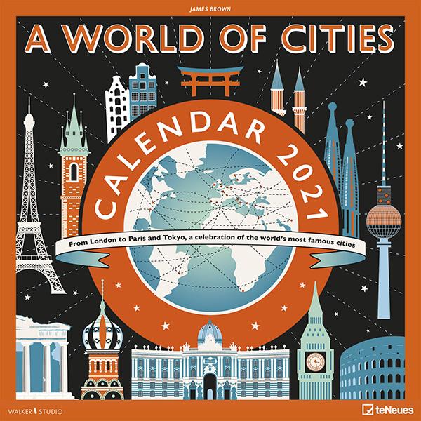 Calendario 2021 A world of cities