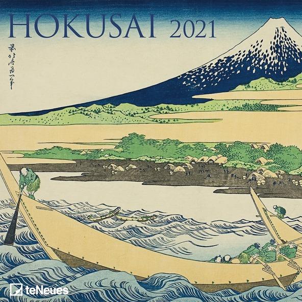 Calendario 2021 Hokusai