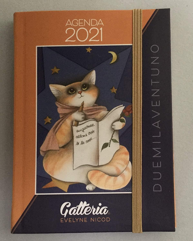 Agenda Settimanale 2021 Gatteria