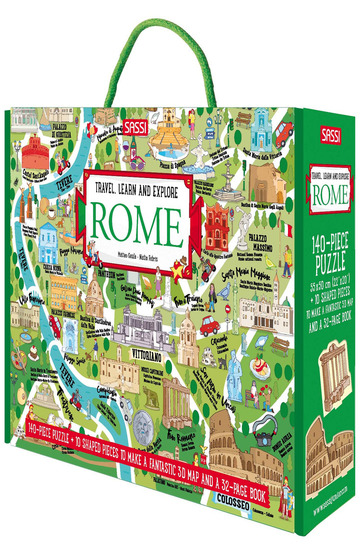 ROME. TRAVEL, LEARN, EXPLORE. EDIZ. A COLORI. CON PUZZLE