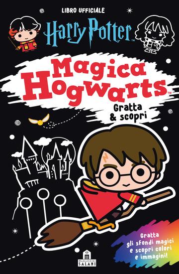 HARRY POTTER. MAGICA HOGWARTS. GRATTA & SCOPRI. CON MATITA